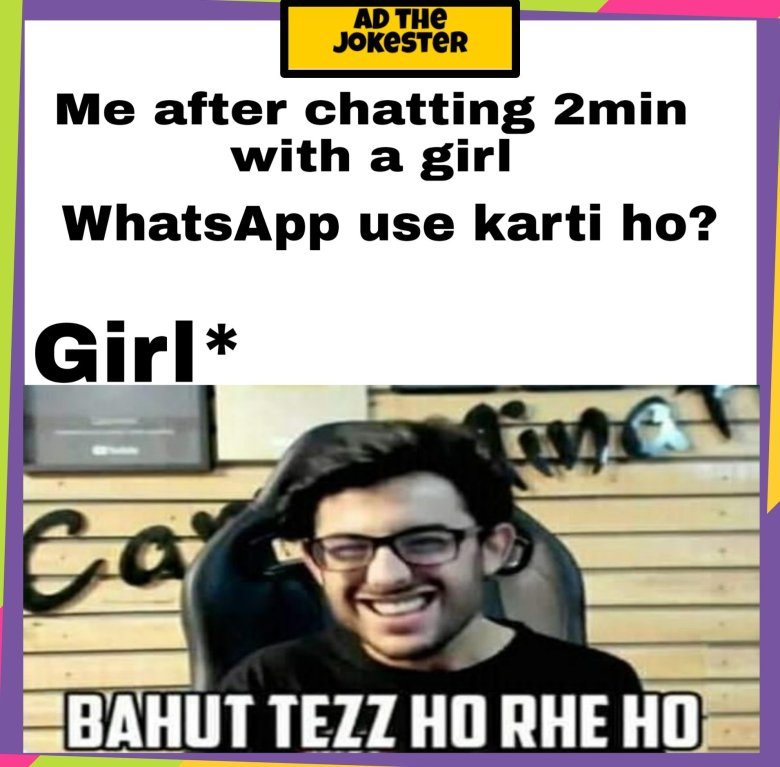 This is about Latest Instagram memes of 2020 on Carryminati