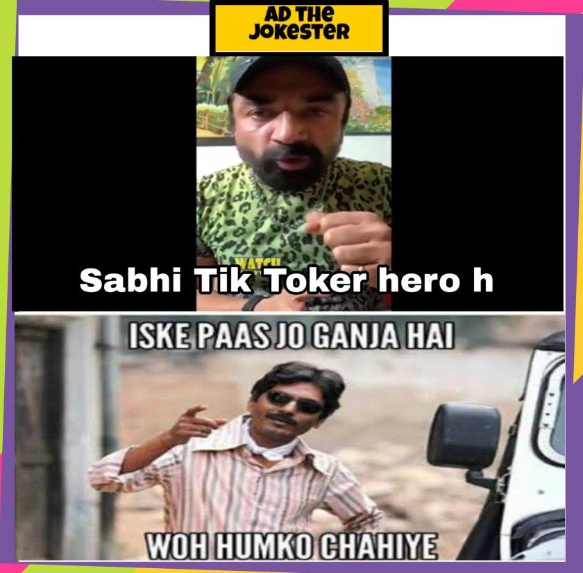 Nawazudin Funny memes in Hindi