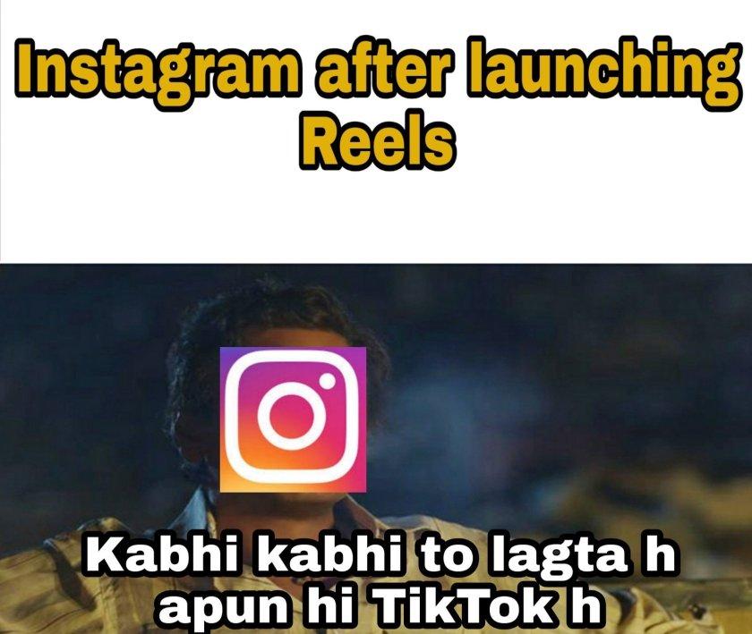 Funny Reels memes