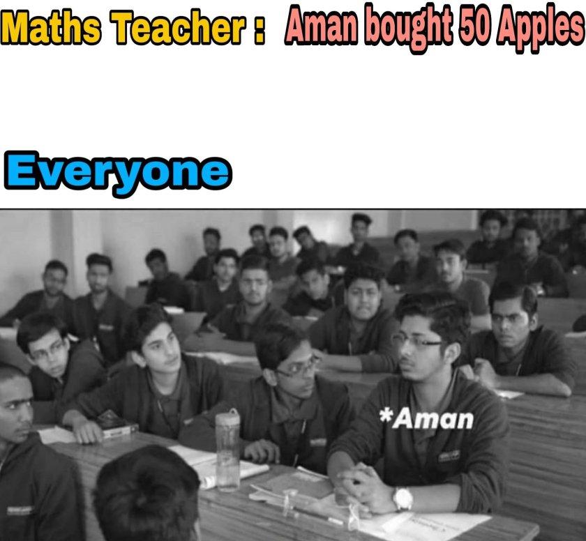 School Life Sarcastic memes