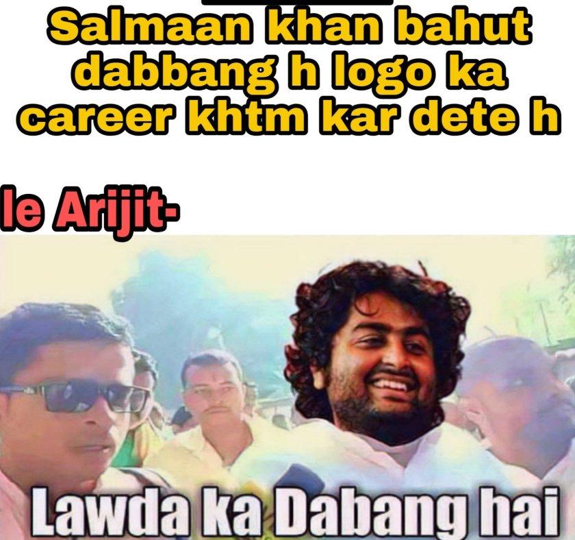 Arijit singh + Bollywood  Hindi memes