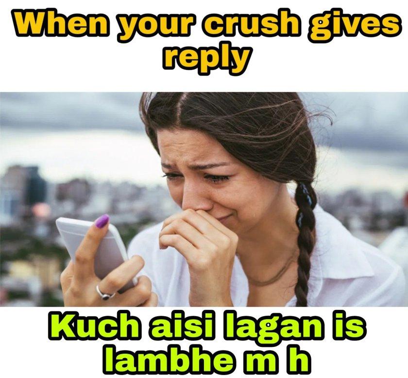 Crush + love memes