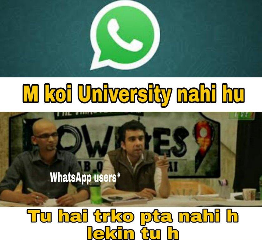 Roadies + whatsapp memes