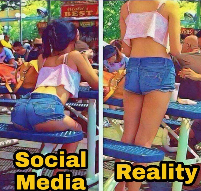 Girls Social media memes
