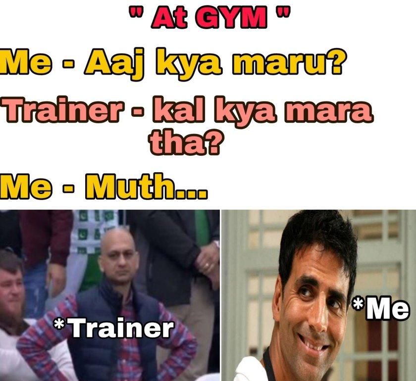 Memes On Gym