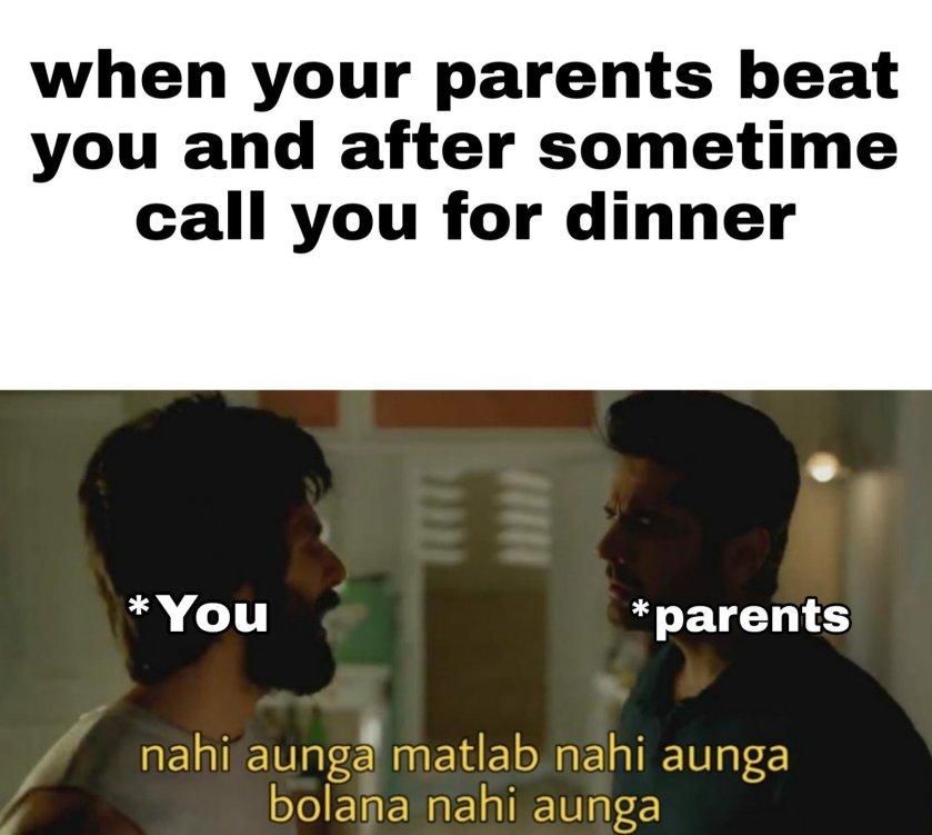 Memes on Parents