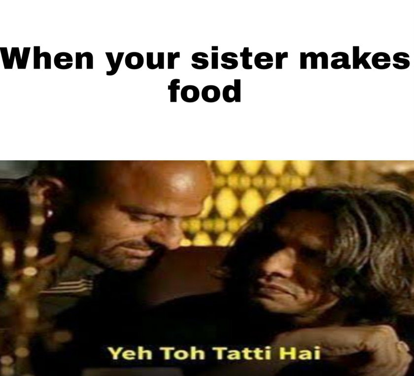 Memes on Sister