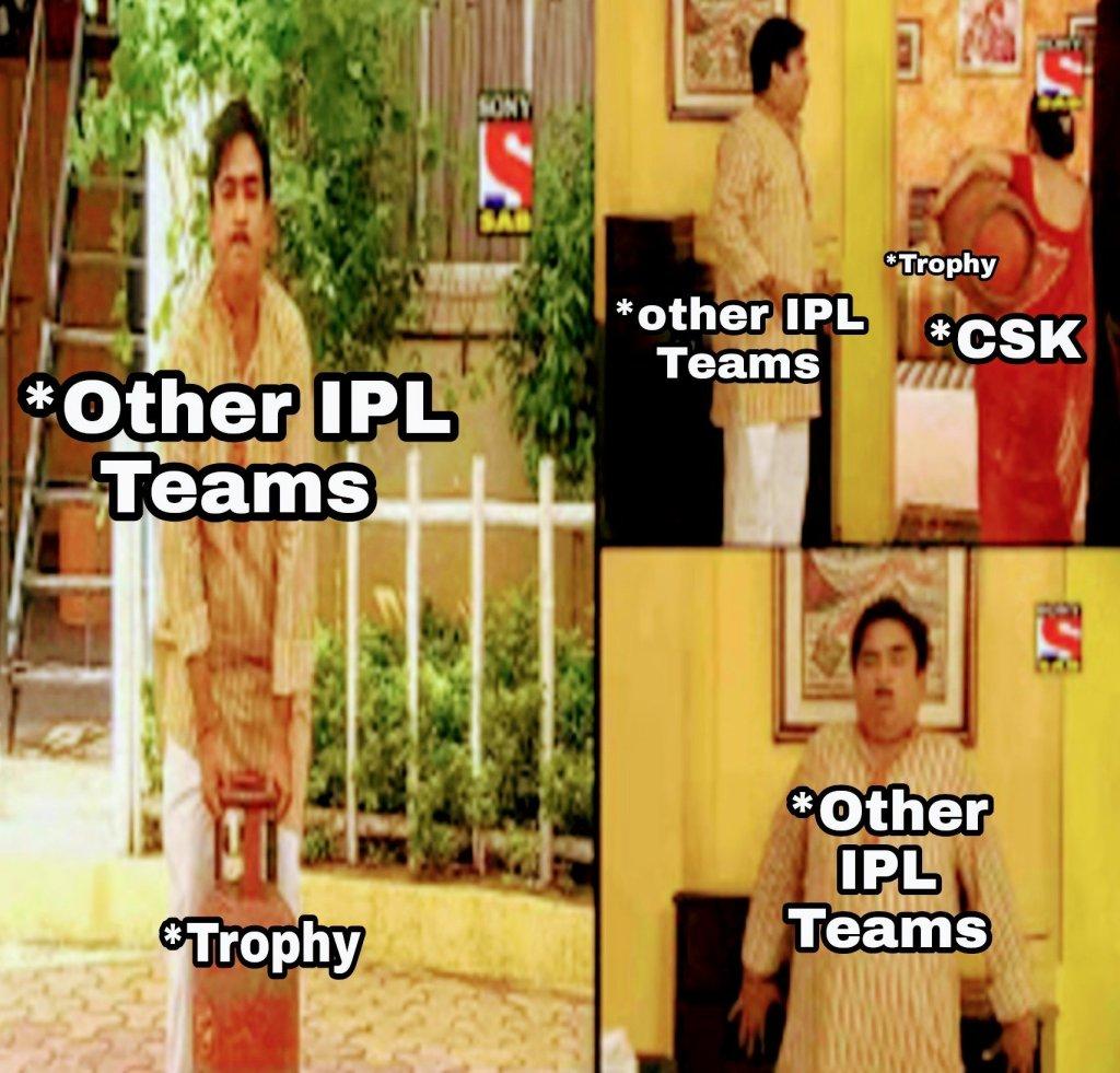 CSK memes in Hindi