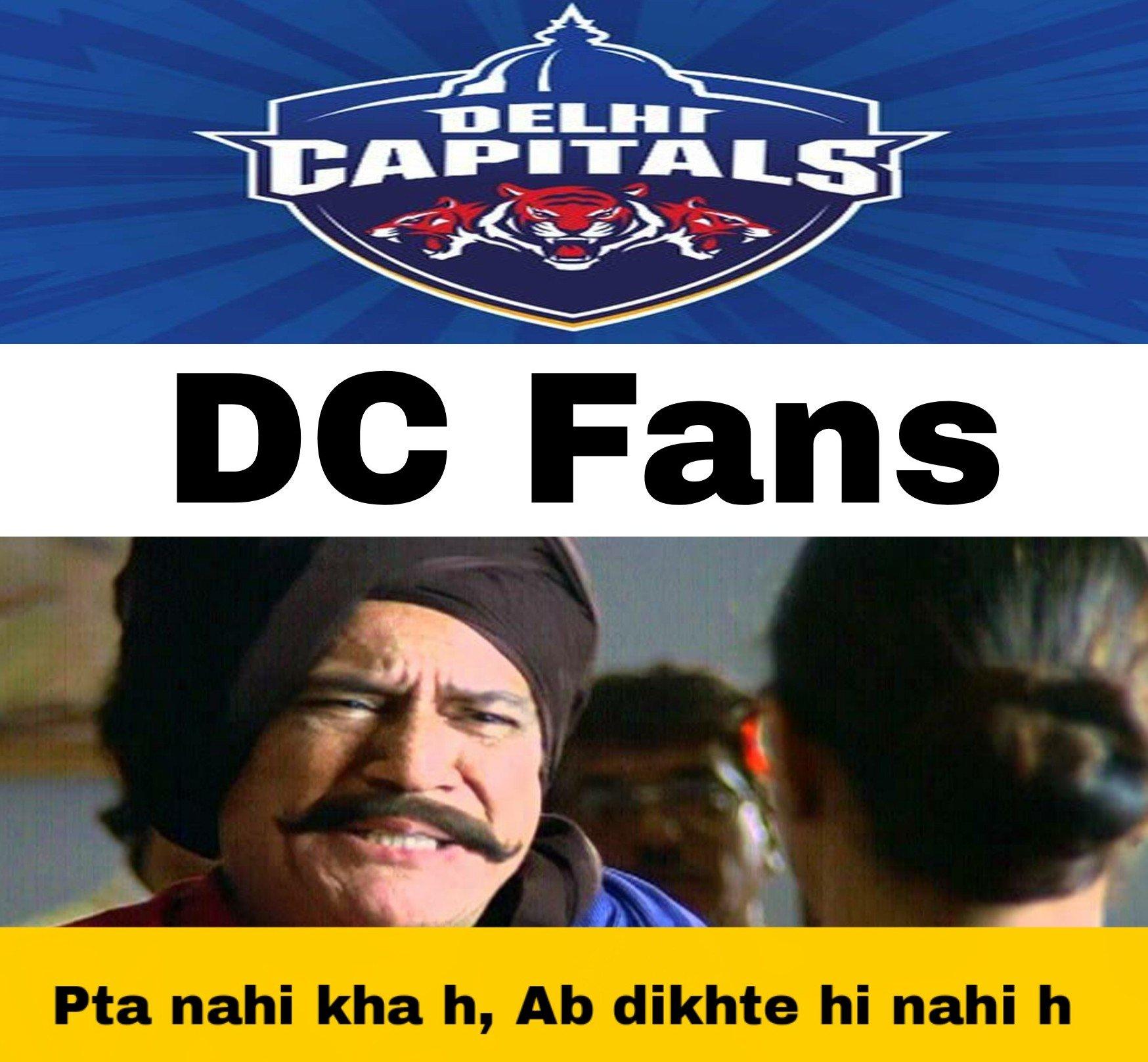 IPL - DC memes
