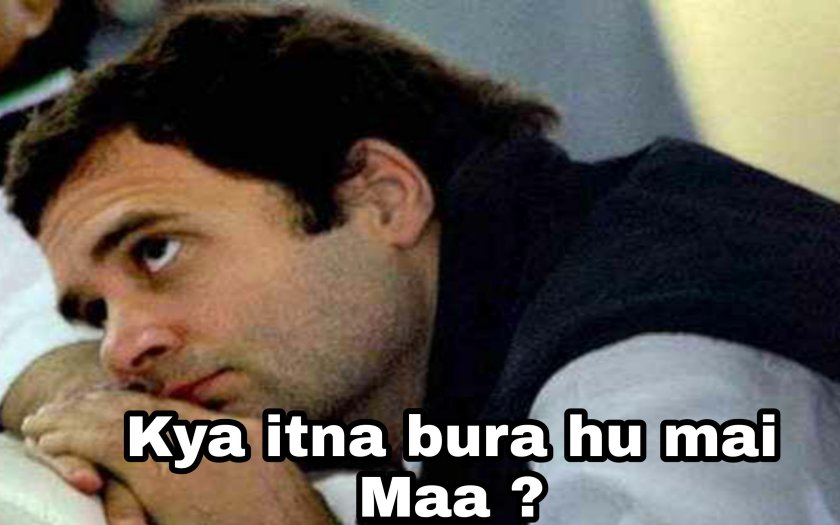 Rahul Gandhi funny photo