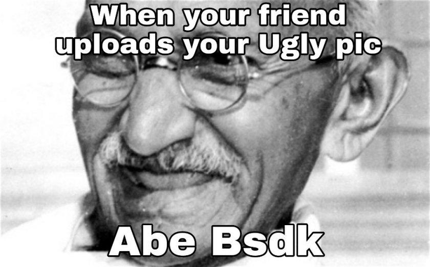 Mahatma Gandhi memes